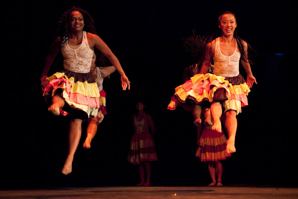 Bailando por Una Causa 2014. A dance showcase organized by Baila Society to benefit the Latino Commission on AIDS