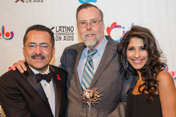 Guillermo Chacon, Latino Commission on AIDS; Dan O'Connell, NYS AIDS Institute, Cielo Award Recipient and Dr. Yvette Calderon, Latino Commission on AIDS Board MemberGuillermo Chacon, Latino Commission on AIDS; Dan O'Connell, NYS AIDS Institute, Cielo Award Recipient and Dr. Yvette Calderon, Latino Commission on AIDS Board Member