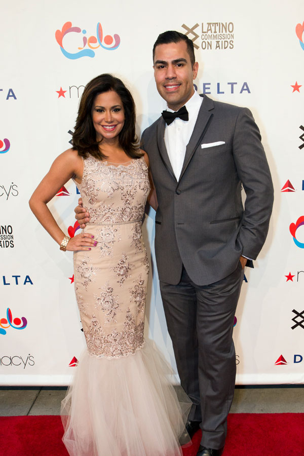 Cielo Emceees: Sibila Vargas, NBC4 and J.W. Cortes, Actor