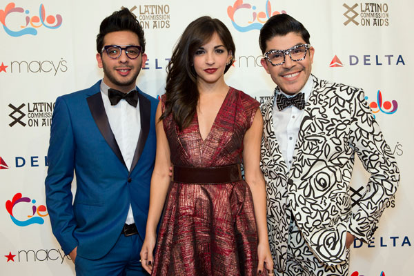 Eduardo Morales ; Anna Villafane, Broadway Actress and Mondo Guerra, Fashion Designer