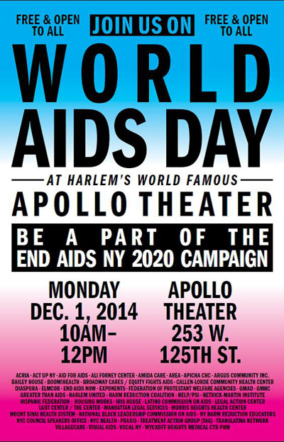 NYC World AIDS Day Coalition to Host Launch of the End AIDS NY 2020 Campaign