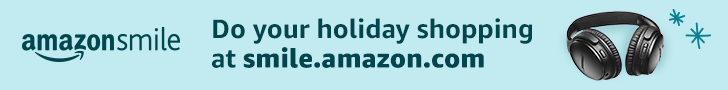 Shop with Amazon Smile. Support the Commission