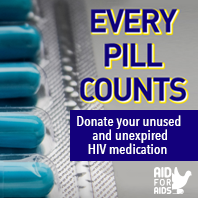Donate your unused HIV pill
