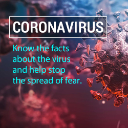 Know the facts about coronavirus